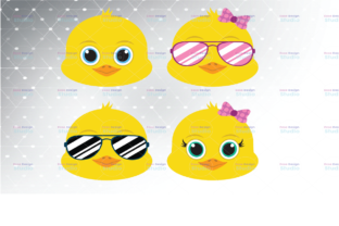 Cool Chick SVG Cut Files, Easter Clipart Graphic Graphic Templates By Tyleeijn Store