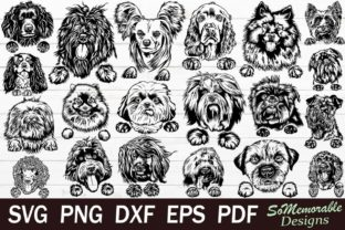Print on Demand: Dogs Bundle, Dogs SVG Cut File Graphic Graphic Templates By SoMemorableDesigns