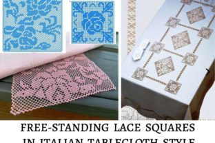 FSL Squares for Tablecloths Intricate Cuts Embroidery Design By LaceArtDesigns