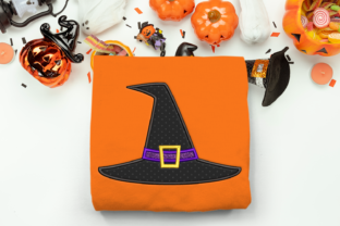 Halloween Witch Hat Halloween Embroidery Design By DesignedByGeeks