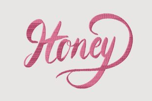 Print on Demand: Honey House & Home Quotes Embroidery Design By setiyadissi