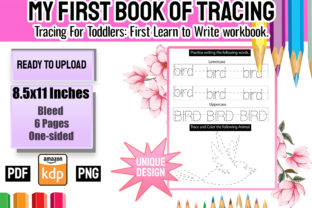 Print on Demand: My First Book of Tracing Vol 1 Graphic Teaching Materials By Funnyarti