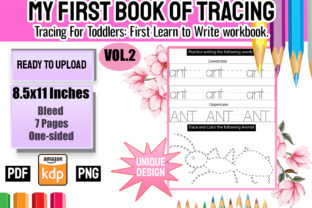 Print on Demand: My First Book of Tracing Vol 2 Graphic Teaching Materials By Funnyarti