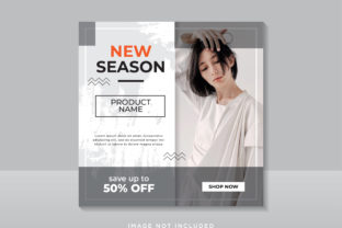 Fashion Sale Instagram Graphic Graphic Templates By boskecil