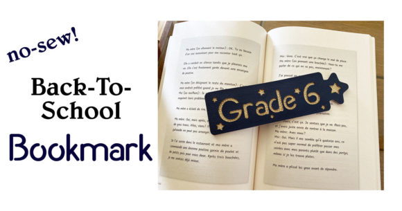 Make a Back-To-School Bookmark