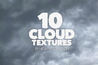 Print on Demand: Cloud Textures X10 Graphic Textures By SmartDesigns