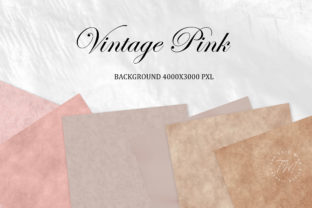 Print on Demand: Digital Paper Vintage Rose Pastel Graphic Textures By The Rose Mind 3