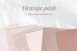 Print on Demand: Digital Paper Vintage Rose Pastel Graphic Textures By The Rose Mind 4