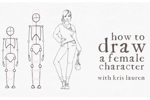 Drawing a Female Character