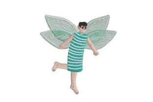 Male Fairy Fairy Tales Embroidery Design By Embroidery Designs