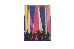 Nightclub Flyer Dance & Drama Embroidery Design By Embroidery Designs
