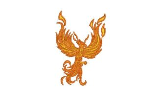 Phoenix Birds Embroidery Design By Embroidery Designs