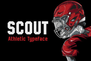 Print on Demand: Scout Display Font By HipFonts