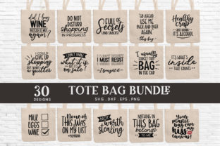Tote Bag Quotes Bundle Graphic Crafts By peachycottoncandy