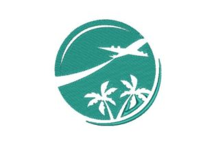 Travel Agency Vacation Embroidery Design By Embroidery Designs