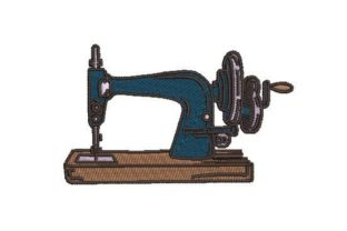 Vintage Sewing Machine Sewing & Crafts Embroidery Design By Embroidery Designs