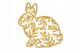 Bunny Easter Embroidery Design By LizaEmbroidery