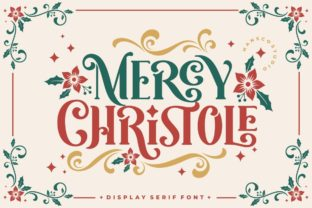 Print on Demand: Mercy Christole Display Font By HansCo