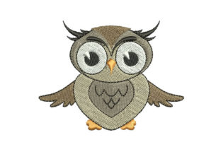 Owl Birds Embroidery Design By Embroiderypacks
