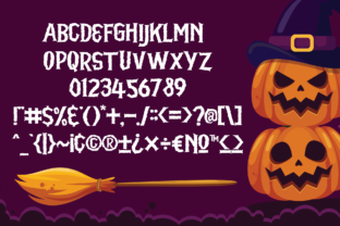 Print on Demand: Spooky Whisper Display Font By Holydie Studio 2