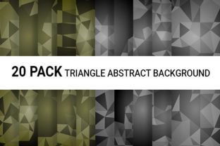 Triangle Abstract Background - Vector Graphic Backgrounds By niviadesigns