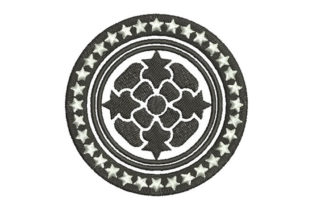 Tribal Motif Intricate Cuts Embroidery Design By Embroiderypacks