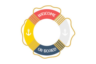 Nautical Life Ring Nautical Craft Cut File By Creative Fabrica Crafts