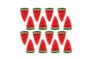 Watermelon Pattern Designs & Drawings Craft Cut File By Creative Fabrica Crafts