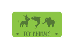 Toy Animals Label Designs & Drawings Craft Cut File By Creative Fabrica Crafts