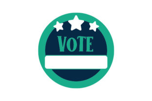 Vote Sticker Designs & Drawings Craft Cut File By Creative Fabrica Crafts