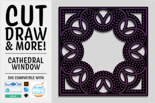 Print on Demand: Cathedral Window Cut Draw & More SVG Graphic 3D SVG By gentlemancrafter