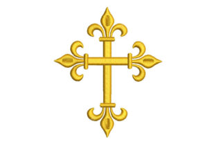 Cross Religion & Faith Embroidery Design By Embroiderypacks