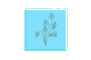 Flowers Card Vector Graphic Icons By Graphic Idea