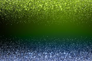 Print on Demand: Green and Blue Sparkle Glitter Backgroun Graphic Backgrounds By Rizu Designs