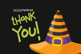 Print on Demand: Halloween Witch Hats Graphic Illustrations By DigitalPapers 3