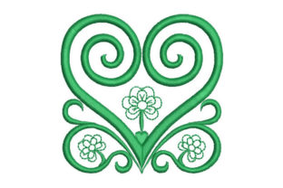 Heart Motif Intricate Cuts Embroidery Design By Embroiderypacks