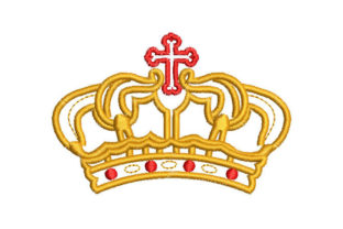 King's Crown Work & Occupation Embroidery Design By Embroiderypacks