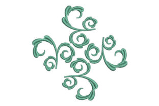Leaf Decoration Intricate Cuts Embroidery Design By Embroiderypacks