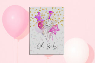 Pink Balloons Clipart - 4