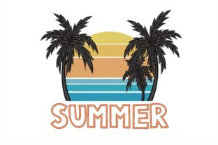 Summer Summer Embroidery Design By NinoEmbroidery