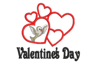 Valentine's Day Valentine's Day Embroidery Design By Embroiderypacks