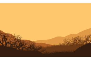 Dramatic Mountain Views at Dusk Graphic Backgrounds By cityvector91