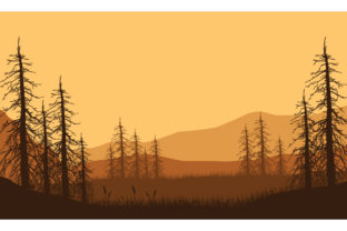 Magnificent Views of the Mountains Graphic Backgrounds By cityvector91