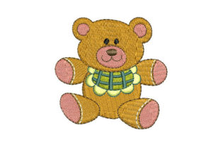Teddy Bear for Babies Teddy Bears Embroidery Design By Embroiderypacks