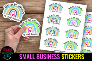 Thank You for Supporting Stickers Graphic Crafts By Happy Printables Club