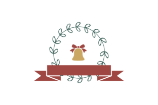 Print on Demand: Christmas Stickers Retro - Bell Svg Graphic Illustrations By Na Punya Studio