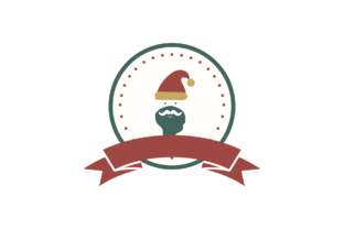 Print on Demand: Christmas Stickers Retro - Claus Svg Graphic Illustrations By Na Punya Studio