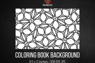 Print on Demand: Coloring Book Background Graphic Illustrations By eichgr