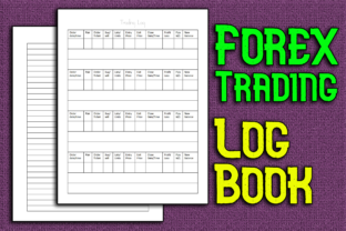 Print on Demand: Forex Trading Notebook / Log Book Graphic KDP Interiors By Mary's Designs