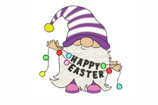 Easter Gnome Easter Embroidery Design By LizaEmbroidery
